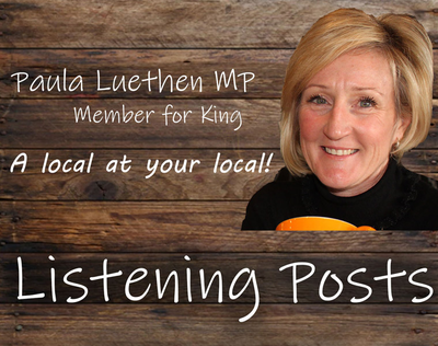 Member for King - Paula Luethen