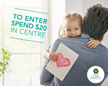 Spend & WIN for Father's Day!