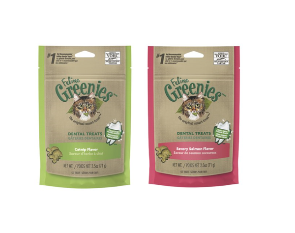 Greenies for Cats Super Special (normally $10 per pack) 1 PACK $8.00 3 PACKS $15.00 10 PACKS $55.00