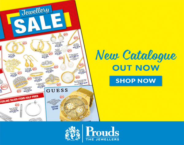 Dreaming of Jewellery? Diamonds, Gold, Silver and Watches? Prouds The Jewellers Jewellery & Watch Sale is on now! With 50% off or more on Sale items it's now time to visit Prouds! Sale on now.