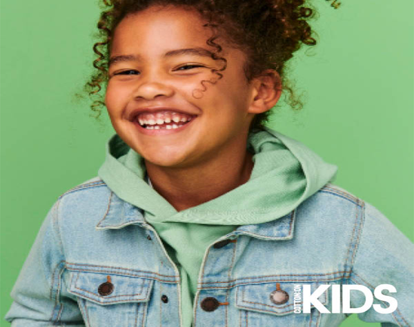 Cotton On Kids is welcoming the cooler months and your mini is encouraged to dress their best with our layering options. Cosy knitwear with oversized jackets paired with their core denim jeans.