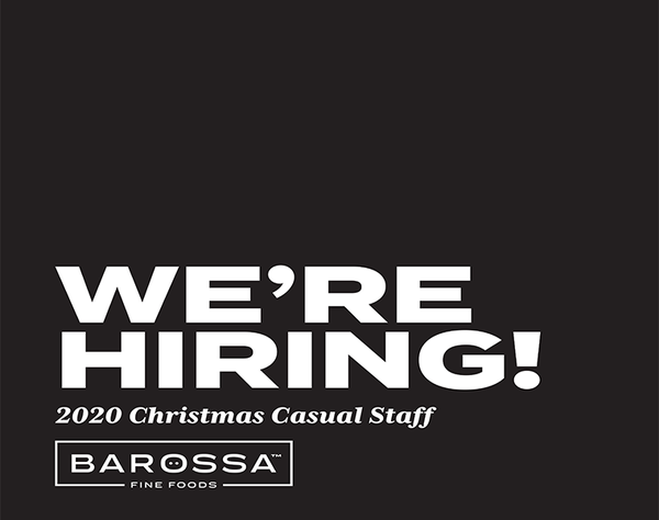 Would you like to join the Barossa Fine Foods Golden Grove team here at The Grove Shopping Centre? They're currently looking for casual staff over the busy Christmas season!🎄 To apply, please provide your resume in person in-store!