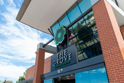 The Grove Shopping Centre message to customers