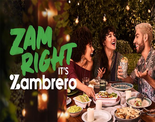 Wrap your hands around the best burrito in town! Zam Right, It's Zambrero.