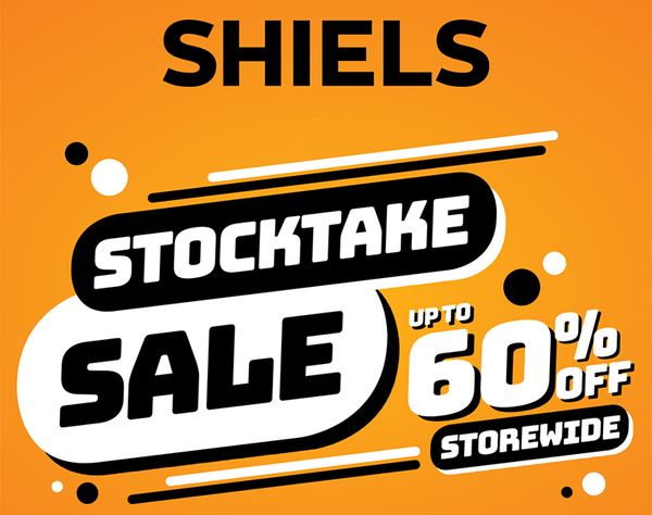 Stocktake Sale, with huge savings of up to 60% off storewide*