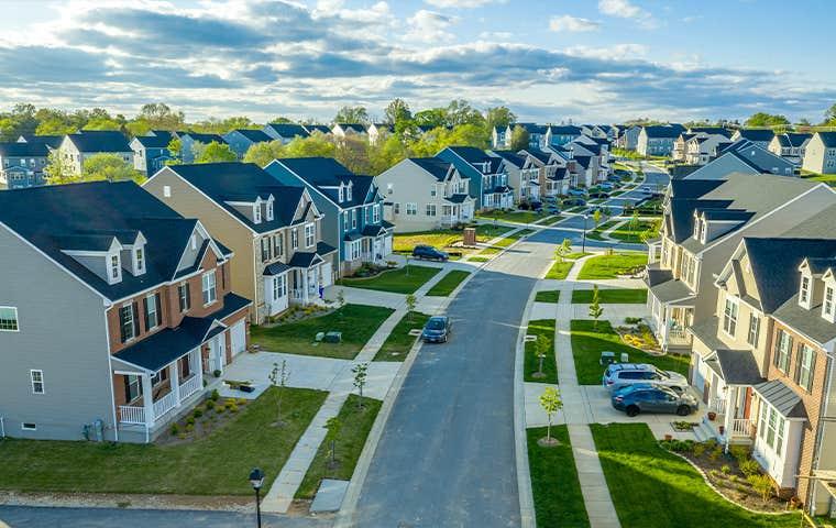 a suburban neighborhood in edisto south carolina