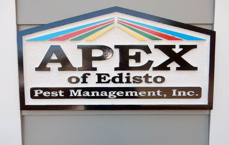apex of edisto sign
