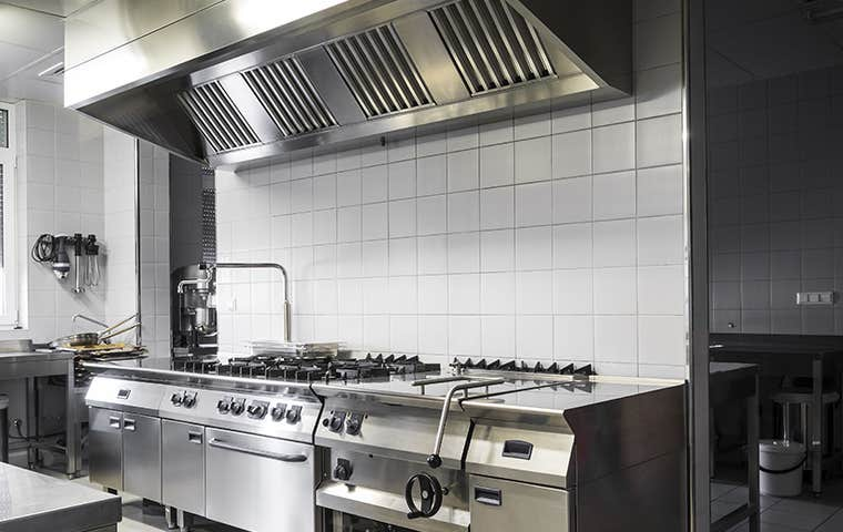 a commercial kitchen in edisto south carolina