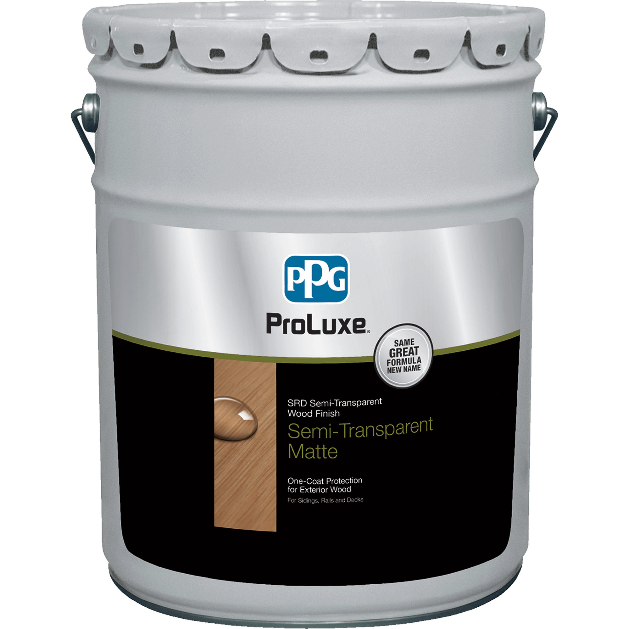PROLUXE<sup>®</sup> SRD Semi-Transparent Wood Finish 5 gallon