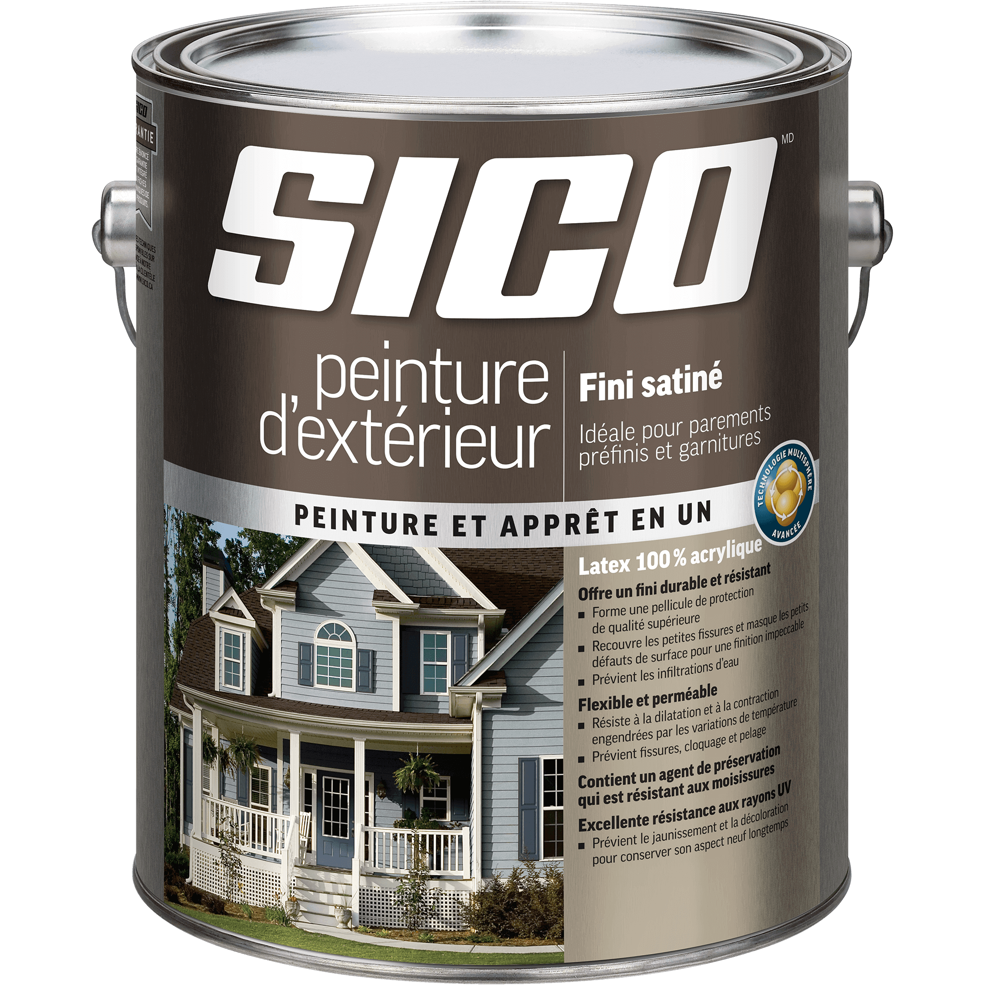 SICO<sup>®</sup> Exterior Paint Our Best Quality Satin