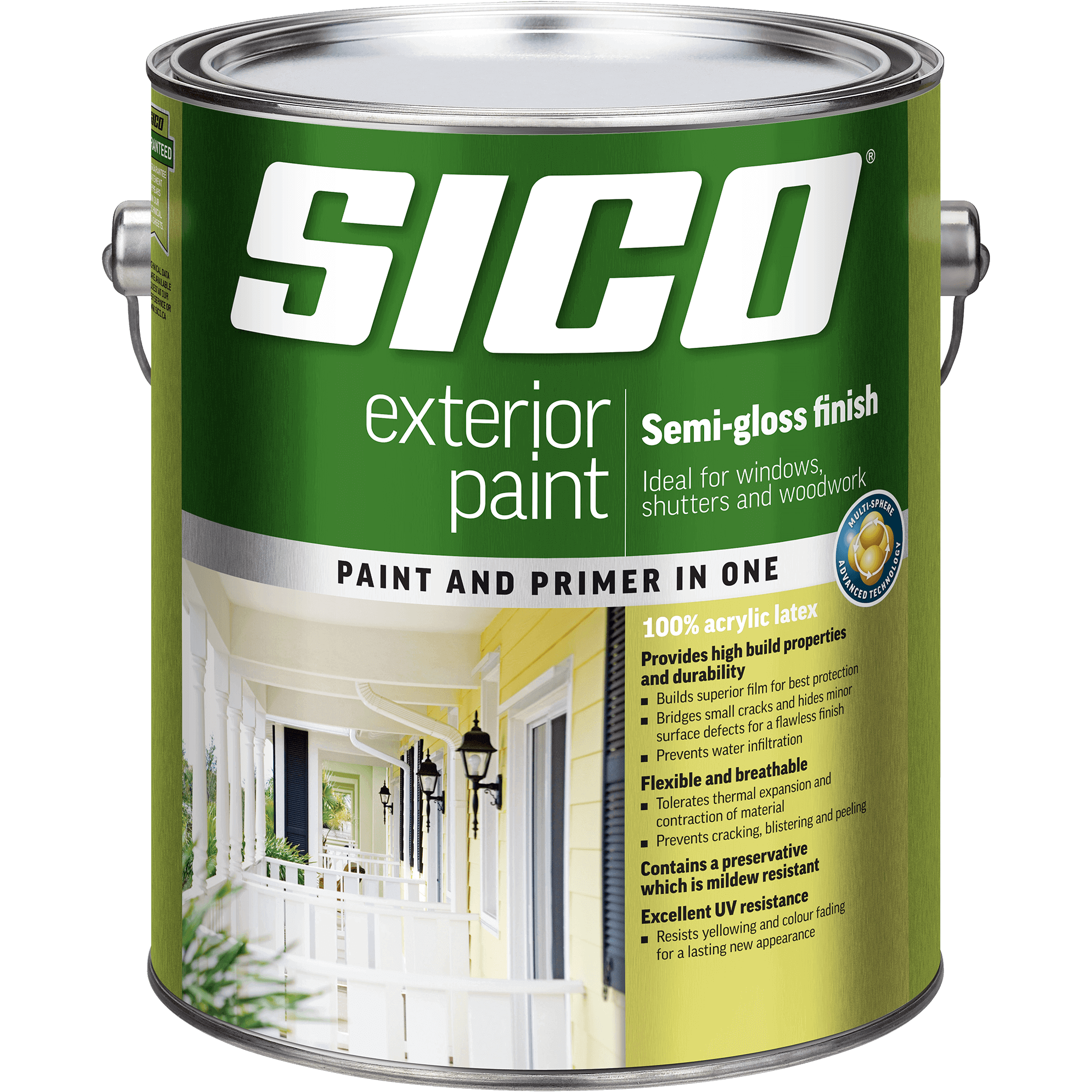 SICO<sup>®</sup> Exterior Paint Our Best Quality semi-gloss