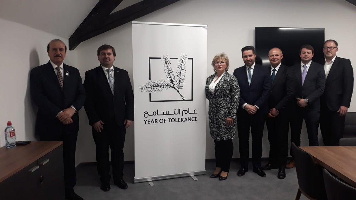 Setkání poslanců s velvyslancem SAE