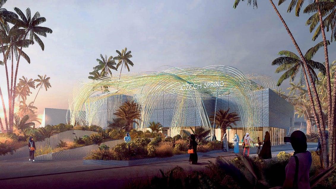 Instalace na EXPO se blíží