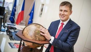 Tomáš Petříček: Představu, že bych jednou chtěl být ministrem, jsem určitě neměl