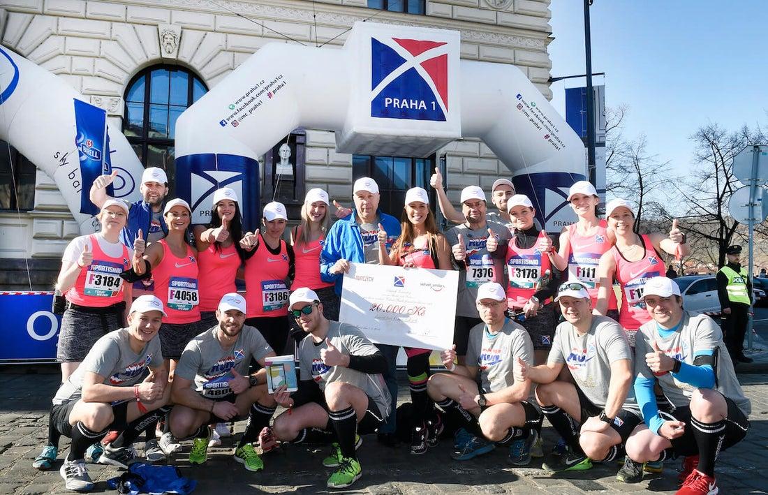 Dvacet běžců Prahy 1 běželo dvacátý půlmaraton