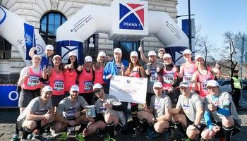 Twenty runners from Prague 1 ran the twentieth half marathon