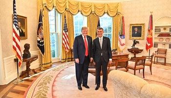 Setkání v Bílém domě