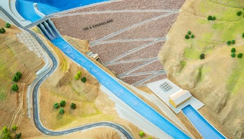 Czechs are building two large dams with hydro power plants in Turkey
