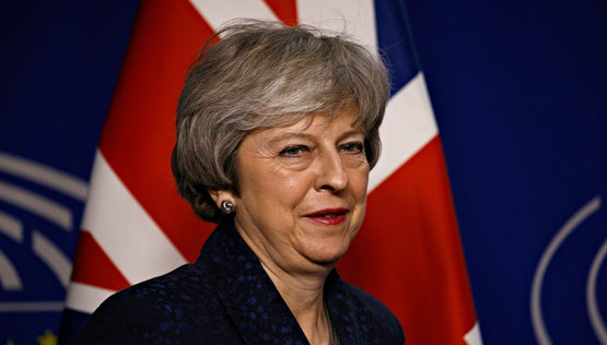 Theresa May, brexitová premiérka
