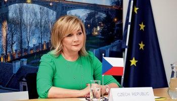 Alena Schillerová: We will make our way back to a balanced budget