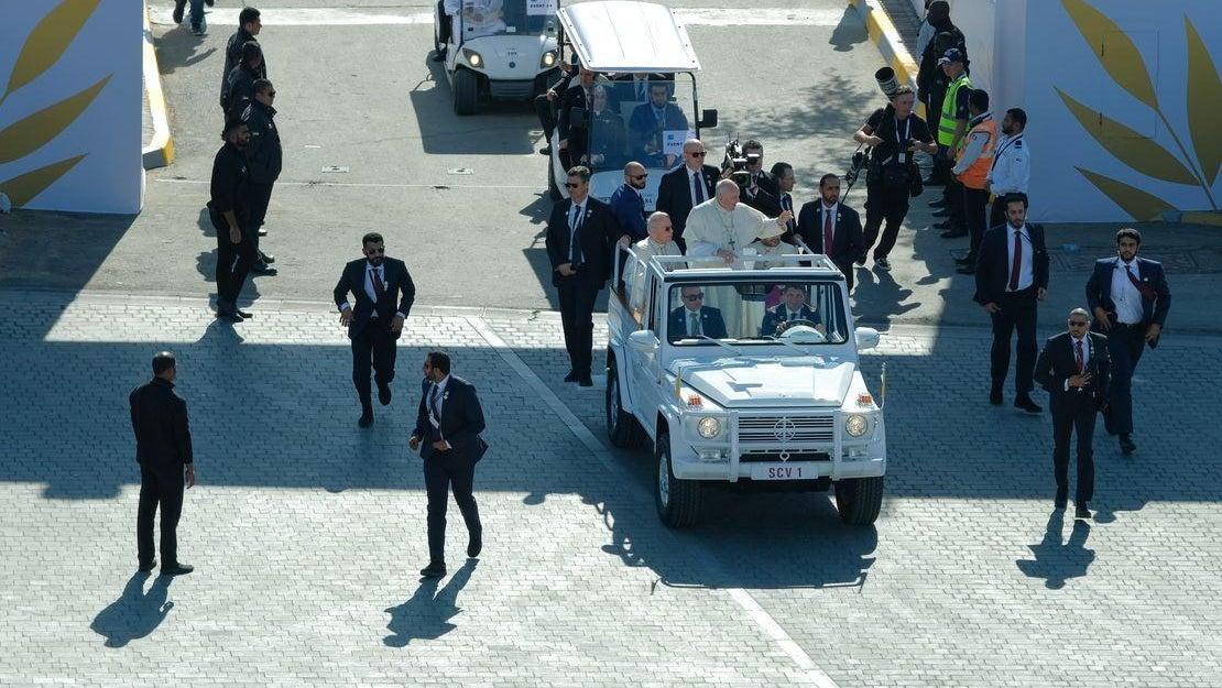 Historická návštěva papeže na Arabském poloostrově
