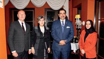 Pracovní večeře s velvyslancem Bahrajnu