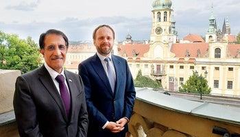Česko-katarské setkání