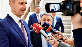 Richard Raši: We do not give comment in advance on any future coalitions