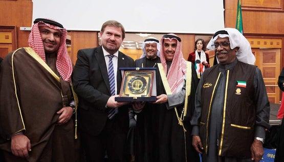 Státní recepce Kuvajtu