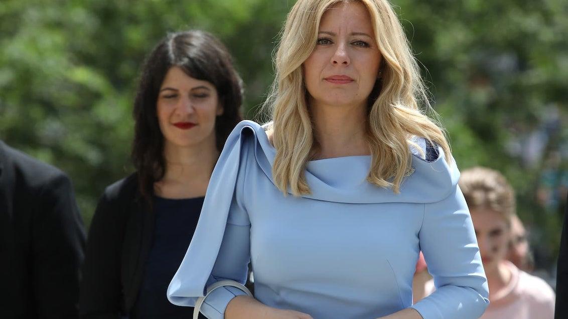 Zuzana Čaputová,  nečekaná hvězda Slovenska