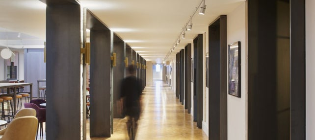Corridor in an office