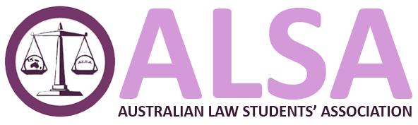 Australian Law Students Association logo