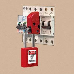 Master Lock Miniature Circuit Breaker Lockout Device