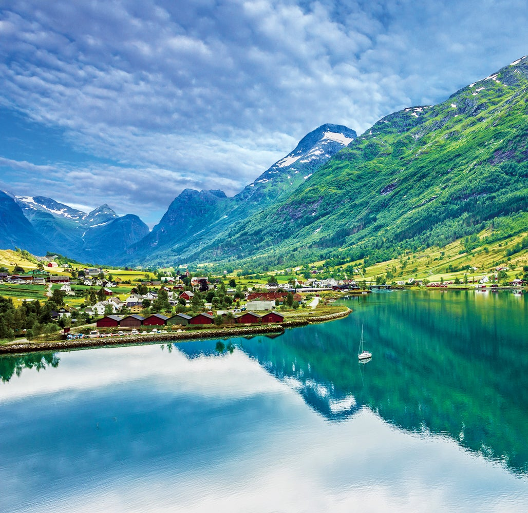 Olden Norway Landscape