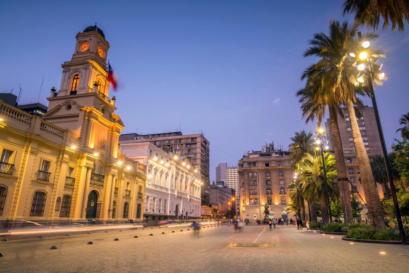 Plaza de las Armas - Santiago, Chile