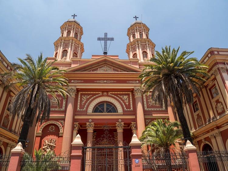 Church in Santiago Chile