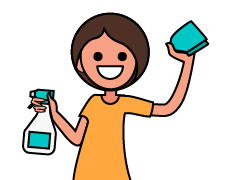 Domestic Helper Infographic Icon