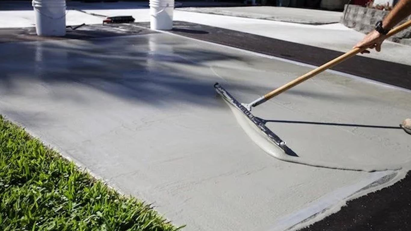 Concrete driveway repair in Seattle