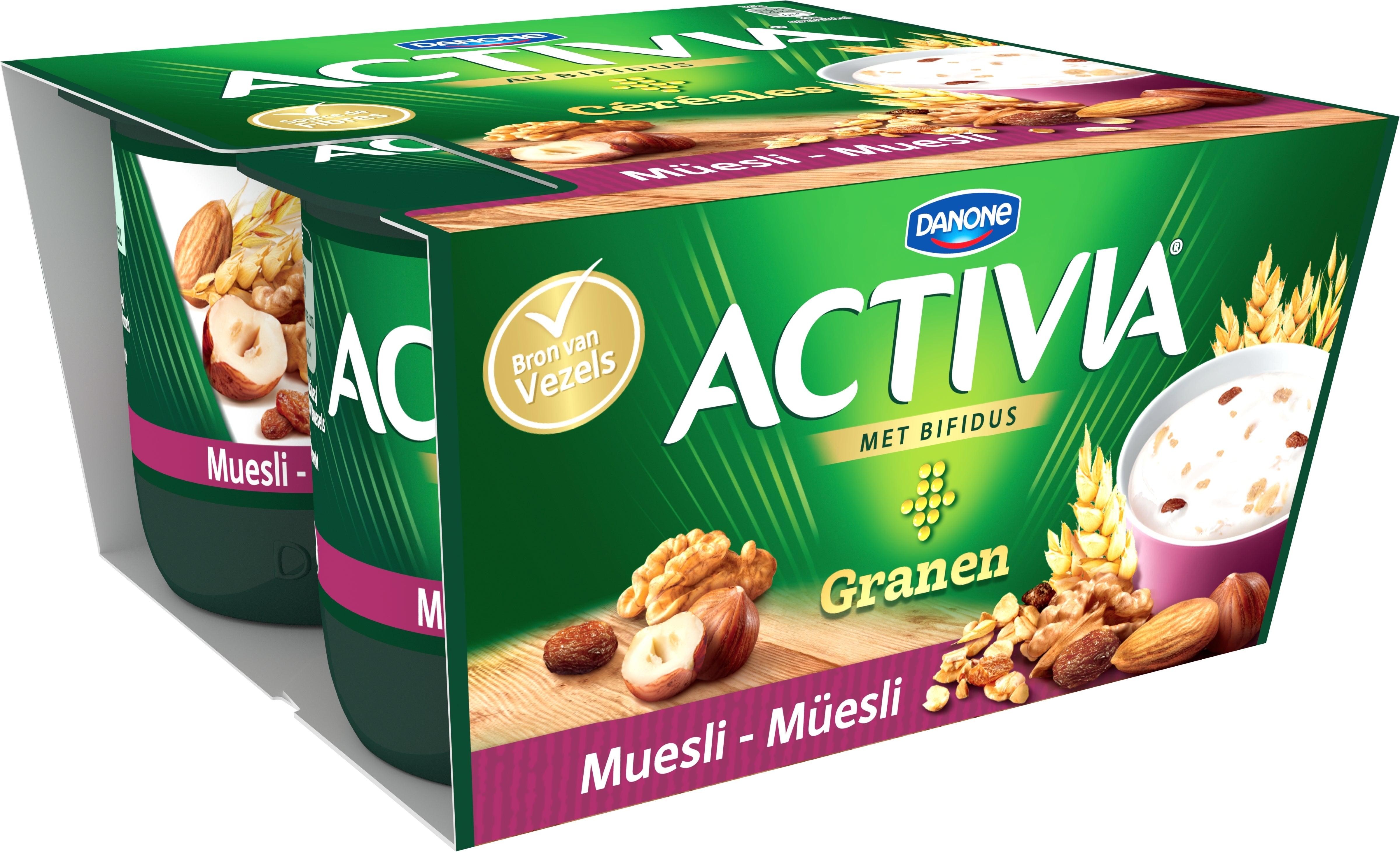 Activia Céréales Müesli  4x125 g
