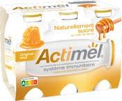 Actimel Natuurlijk Gesuikerd met Honing: Original Honing