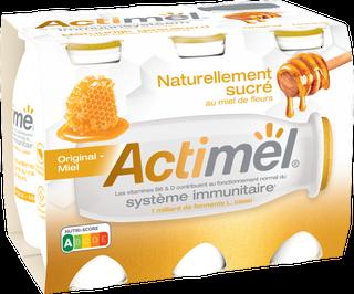 Actimel Naturellement Sucré au Miel: Original Miel