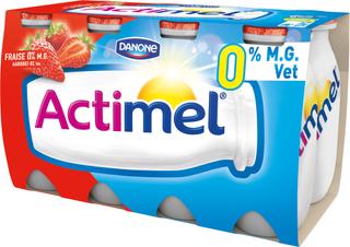 Actimel 0% Vet Aardbei