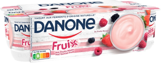 Danone Fruix - Fraise Framboise Fruits Rouges