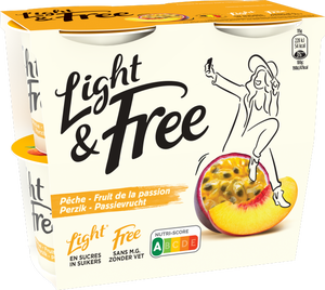 Light & Free Perzik - Passievrucht