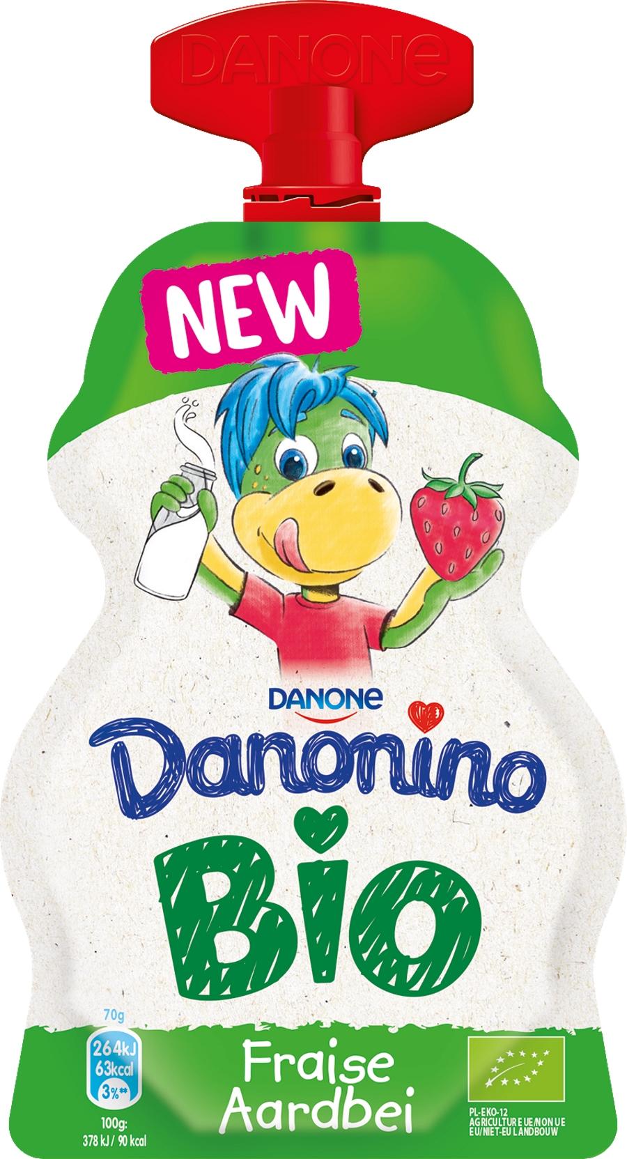 Danonino Bio Pocket Fraise