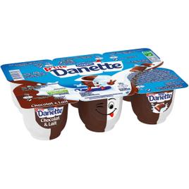 P'tite Danette Chocolat & Lait