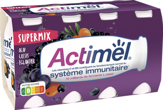 Actimel Supermix - Açaï Cassis Argousier