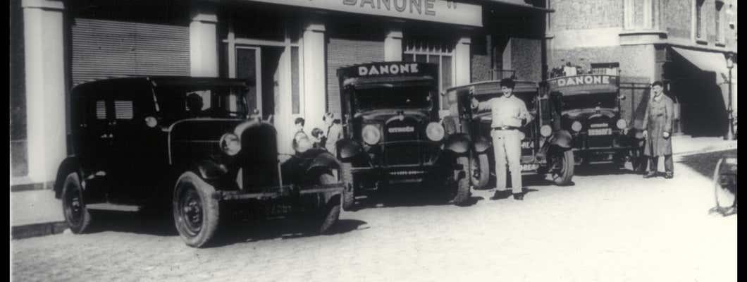 Les débuts de Danone en France