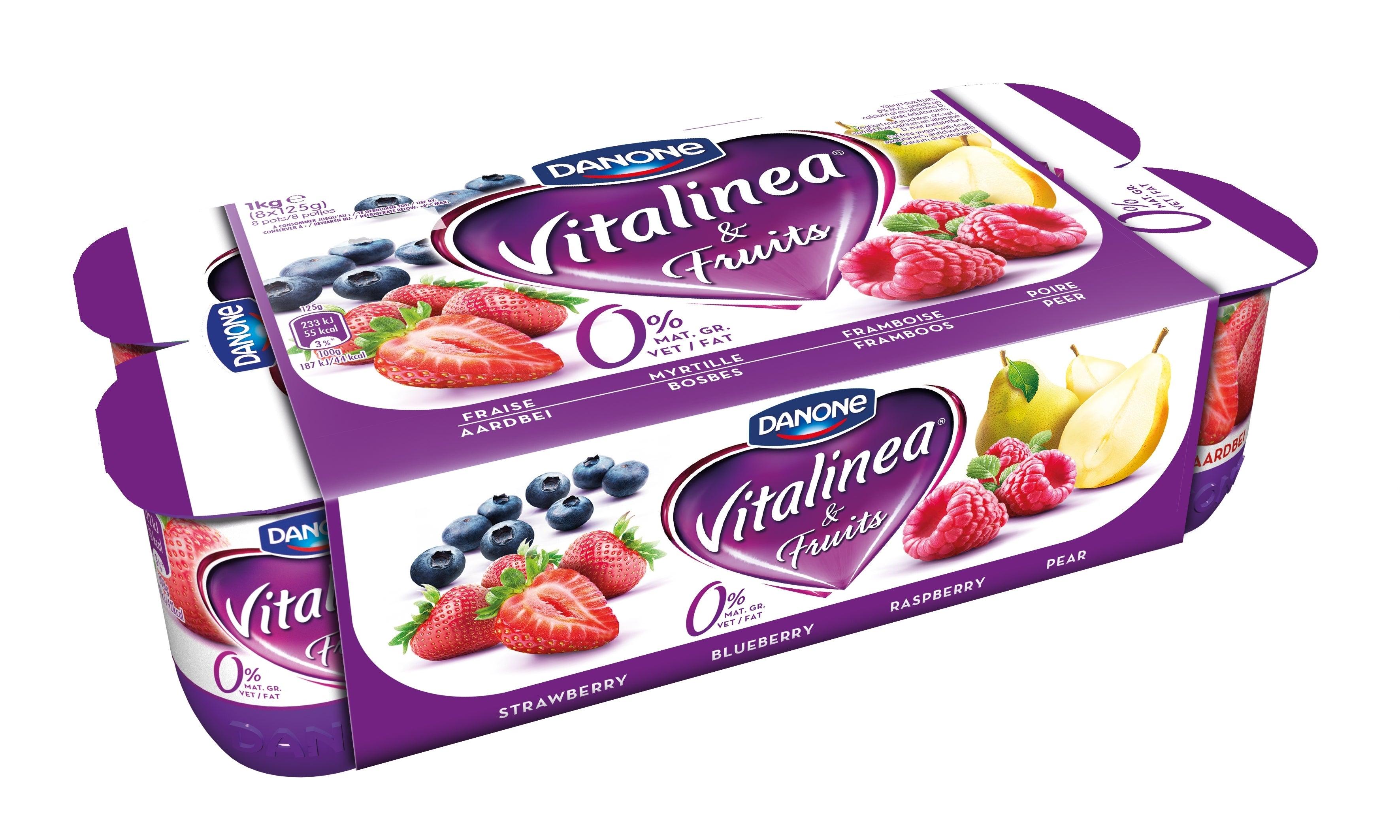 Vitalinea Fruits - Fraise Myrtille Framboise Poire