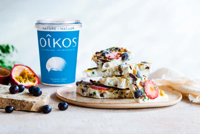 ECORCES GLACEES DE YAOURT OIKOS SAVEUR VANILLE